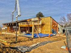 Framing for the new exterior wall is going up and new patio footings are being poured this week at South Suburban Golf Clubhouse! #constructionupdates #progress #clubhouse