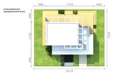 DOM.PL™ - Projekt domu CPT HomeKONCEPT-34 CE - DOM CP1-40 - gotowy koszt budowy Pergola, Floor Plans, Outdoor Pergola, Floor Plan Drawing, House Floor Plans