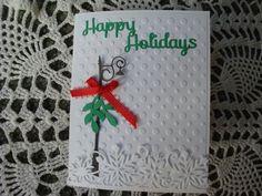 Handmade Christmas Card Xmas Card Merry Christmas by CardsbyEileen