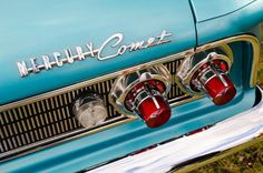 """Chromeography - """"Mercury"""" - photos of emblems, badges, logos on cars & other objects"""