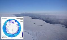 The strange ice-free area in Antarctica's Weddell Sea was first spotted in the 1970s in the midst of the harsh Antarctic winter, – and now, 40 years after it closed, the massive hole has reopened.