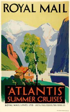 Atlantis Summer cruises on the Royal Mail Line