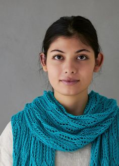 Ravelry: Archway Lace Wrap pattern by Purl Soho Lace Knitting Patterns, Free Knitting, How To Purl Knit, Knit Purl, Purl Soho, Lace Wrap, Wrap Pattern, Knitted Shawls, Knit Scarves