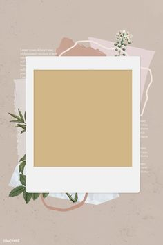 premium image of Blank collage photo frame template on beige Polaroid Frame Png, Polaroid Picture Frame, Polaroid Template, Polaroid Pictures, Collage Foto, Photo Collages, Wall Collage, Photo Collage Template, Picture Templates
