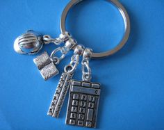 Civil Engineer Keyring Graduation Gift Engineering Keychain Off to University Graduation Gift Hard Hat Charm Civil Engineering, Organza Bags, Graduation Gifts, Charm Jewelry, Civilization, Special Gifts, Antique Silver, Birthday Gifts, Best Gifts