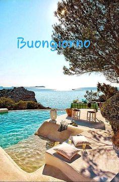 Italian Memes, Gif, Good Morning, Italy, Beach, Water, Pictures, Outdoor, Buen Dia
