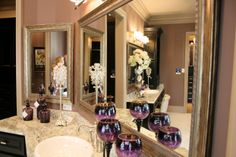 Fashion Glass & Mirror manufactures and installs custom shower doors, framed mirrors, table tops, etched glass, and more in Texas. Custom Shower Doors, Framed Mirrors, Glass Etching, Decor Styles, Elegant, Home Decor, Classy, Framing Mirrors, Decoration Home