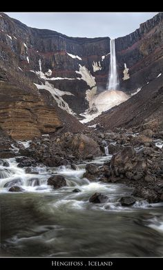 Hengifoss in East Iceland
