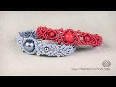 Musical Big Bead Bracelet Tutorial by Macrame School - YouTube