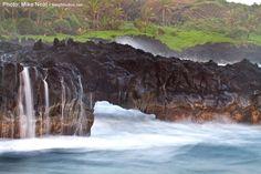This is at Waianapanapa, Maui ...   Mike Neal Photography