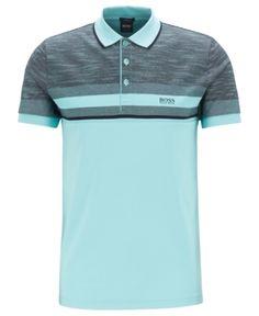 b082a8f27 Boss Men's Christo Slim-Fit Cotton Shirt - Blue 15 in 2019 ...