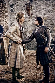 Game of Thrones: Jaime Lannister and Jon Snow