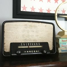 What These Old Things Online Vintage Shop Retro Clock, One That Got Away, Vintage Home Decor, Radios, Vintage Shops, Clocks, Cameras, Old Things, Vintage Fashion