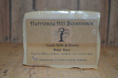 Baby Goat~Goats Milk and Honey Soap for Babies, Kids, and Adults too! by HurricaneHill on Etsy