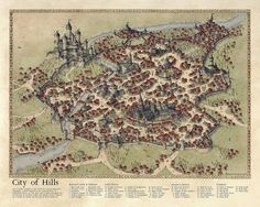 City of Hills 2015: Challenge Map by Traditionalmaps on DeviantArt