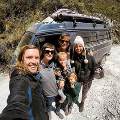"""Encounters. """"On the way to Laguna Paron we were lucky enough to run into the family from our favourite instagram: Adam & Emily and their beautiful daughters Colette and Sierra from @ouropenroad  Such a lovely family and incredible inspiration for those that that are thinking about living life on the road! Thanks for the chat and all the best with your adventures """" Courtesy by @cruzbox_adventures Thanks for TAG us! Tag @vanlifers and/or #vanlifers in your photo to be featured! #vanlifers…"""