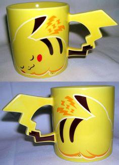 Os Pokémons faram parte da minha vida sempre! Principalmente o Pikachu *-* Eu vi essa caneca na Liberdade, então... sem desculpas, rsrs, tá facin' facin' de encontrar :P