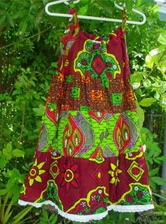 colorful African clothing