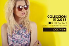 Siguenos en facebook, www.facebook.com/ETAFASHIONECUADOR, y revisa nuestras promociones de temporada. #ETAFASHION #styleguidemagazine2015 #nuevacoleccion #newcollection #face #gafas #woman #taxi #top #accesorios #followme #lookswelove