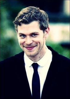 Klaus..... Gosh that's smile!!