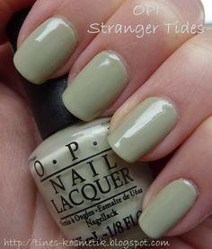 Tines Kosmetikblog: OPI On Stranger Tides - with a fishnet!