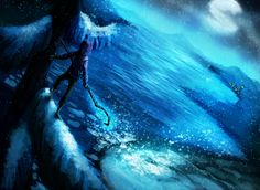 jack frost painting | Jack Frost - First Snow by Stalcry