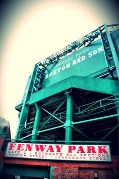 Boston, Ma.  Again someday but I will sit and watch a game