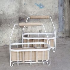 Studio Simple bottle carrier oak was £95 – Tea and Kate