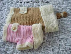 Dog Coat Crochet Pattern #179  $4.00