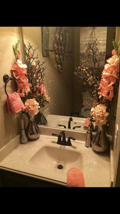 Bathroom Decor countertop 30 fantastic bathroom countertop ideas look elegant 00005 Living Room Decor, Bedroom Decor, Bathroom Towels, Bathroom Wall, Safari Bathroom, Relaxing Bathroom, Bathroom Plants, Bathroom Interior, Small Bathroom