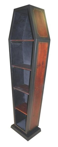 I found 'CASKET FURNITURE  HALLOWEEN DISPLAY CABINET' on Wish, check it out!