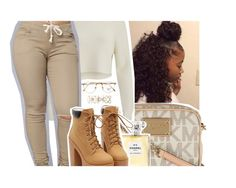 """""""4-26-17"""" by eniola29 ❤ liked on Polyvore featuring MICHAEL Michael Kors, Chanel, 2NDDAY, Persol and Accessorize"""