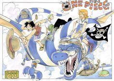 Artbook 'One Piece Color Walk 1′ llega a España