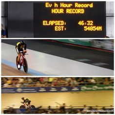 Jack Bobridge 31/1/15, DISC Velodrome, Melbourne, Victoria, Australia. World 1 hour track record attempt. Awesome try Jack, look forward to your next attempt!