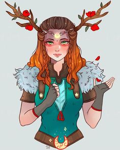 Viking girl by larienne on DeviantArt Fantasy Character Design, Character Drawing, Character Design Inspiration, Viking Art, Viking Woman, Viking Drawings, Little Girl Drawing, Viking Character, Cute Ginger