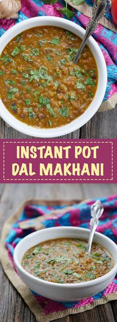 Instant Pot Dal Makhani by Ashley of MyHeartBeets.com