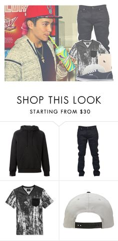 """""""— ootd ; austin —"""" by toxicwaste-anons ❤ liked on Polyvore featuring SWEAR, Yves Saint Laurent, GUESS, Arbor, Vans, men's fashion and menswear"""