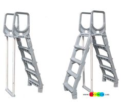swimming poolevolution a frame ladder swimming pool ladders for ...