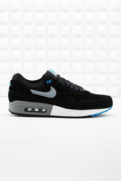 I'm in need of a new pair of sneakers -- Nike Air Max 1 Premium Suede Trainers in Black