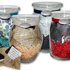 Notes in a Jar, and add a gift card too!