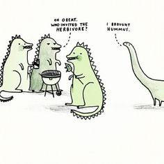 hmmm... cute i think. 'veggie.saurus'
