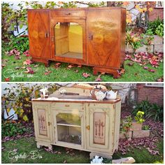 Trabajamos sobre un nuevo mueble vajillero, esta vez dandole un look muy rustico, al estilo del mueble de campo. Tenemos mucho para ...
