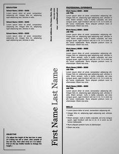 White Minimalist Academic Resume  Resume    Cv Ideas