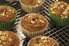 Oliver Nina: Recipe: Dense, Healthy, & Delicious Muffins