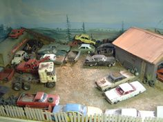 Scale Model Garage for cars in 1/25 scale                                                                                                                                                                                 More