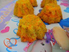 Sformatini di carote  http://www.cuocaperpassione.it/ricetta/a9301f4c-9f72-6375-b10c-ff0000780917/Sformatini_di_carote