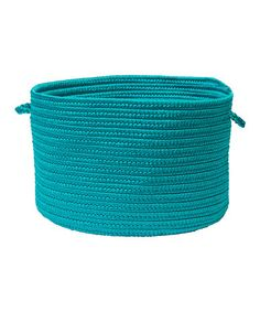 Another great find on #zulily! Turquoise Boca Raton Utility Basket #zulilyfinds