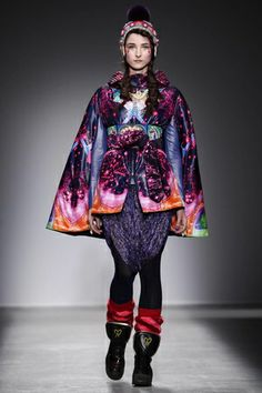 Manish Arora Ready To Wear Fall Winter 2014 Paris - NOWFASHION