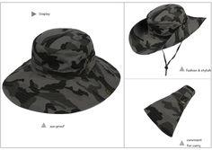 Vbiger Outdoor Boonie Hat. #fashionhat #menfashion #Vibger