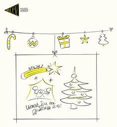 Vanaf de tekentafel wens ik iedereen fijne feestdagen en een geweldig 2016!